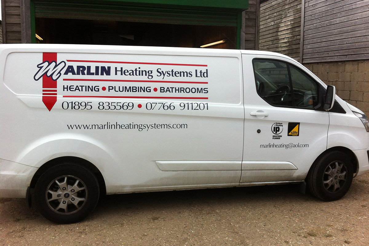 Vehicle Graphics Vinyl Signs For Vans Signwriting